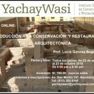 Introducción a la Conservación y Restauración Arquitectónica